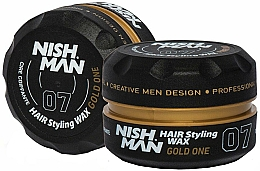 Kup Wosk do stylizacji włosów - Nishman Hair Styling Wax 07 Gold One