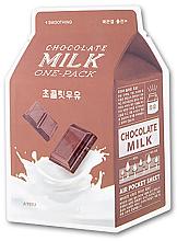 Kup Wygładzająca maska na tkaninie do twarzy Czekoladowe mleko - A'pieu Chocolate Milk One-Pack