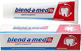 Kup Przeciwpróchnicza pasta do zębów - Blend-a-med Anti-Cavity Original