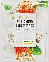 Kup Maseczka do twarzy w płachcie z proteinami jedwabiu - Petitfee & Koelf Silk Amino Serum Mask
