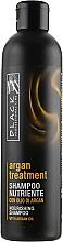Kup PRZECENA! Szampon z olejkiem arganowym, keratyną i kolagenem - Black Professional Line Argan Treatment Shampoo *