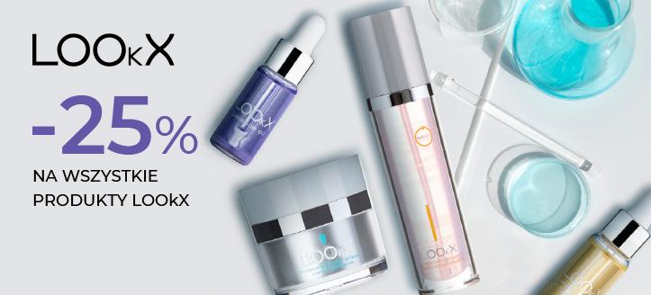 Zniżka 25% na wszystkie produkty LOOkX. Сeny uwzględniają zniżkę.