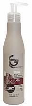 Kup Wygładzający krem do włosów z ochroną termiczną Keratyna i jedwab - Greenini Keratin&Silk