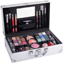 Kup Walizeczka na kosmetyki - Cosmetic 2K Fabulous Beauty Train Case Complete Makeup Palette