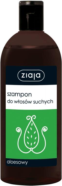 Aloesowy szampon do włosów suchych - Ziaja