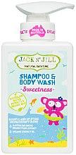 Kup Żel pod prysznic i szampon 2 w 1 dla dzieci - Jack N' Jill Sweetness Shampoo & Body Wash