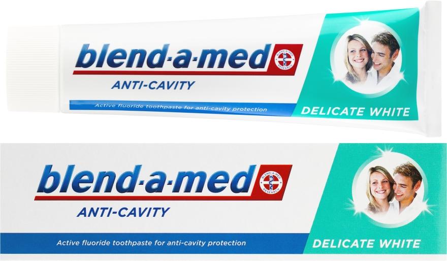 Wybielająca pasta do zębów - Blend-a-med Anti-Cavity Delicate White