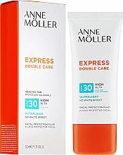 Kup Przeciwsłoneczny fluid do twarzy SPF 30 - Anne Möller Double Care Ultralight Facial Protection Fluid