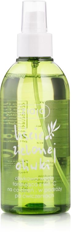 Oliwkowy tonik z witaminą C - Ziaja Liście zielonej oliwki — фото N3