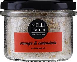 Kup Peelingująca sól do kąpieli Pomarańcza i nagietek - Melli Care Orange & Calendula Scrubbing Bath Salt