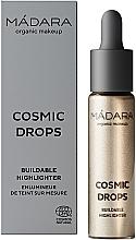 Kup Rozświetlacz w płynie - Madara Cosmetics Cosmic Drops Buildable Highlighter