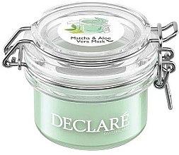 Kup Maska antystresowa z zieloną herbatą matcha i aloesem - Declare Matcha and Aloe Vera Mask