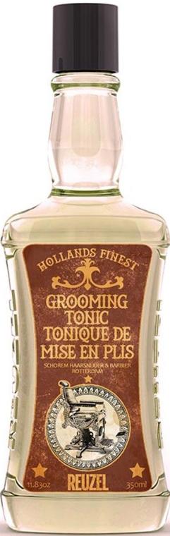 Tonik dla mężczyzn do stylizacji i utrwalania włosów - Reuzel Grooming Tonic — фото N3