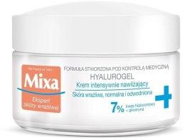 Kup Krem intensywnie nawilżający - Mixa Sensitive Skin Expert Hyalurogel Light