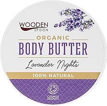Kup Organiczne masło do ciała Lawendowe noce - Wooden Spoon Lavander Nights Body Butter