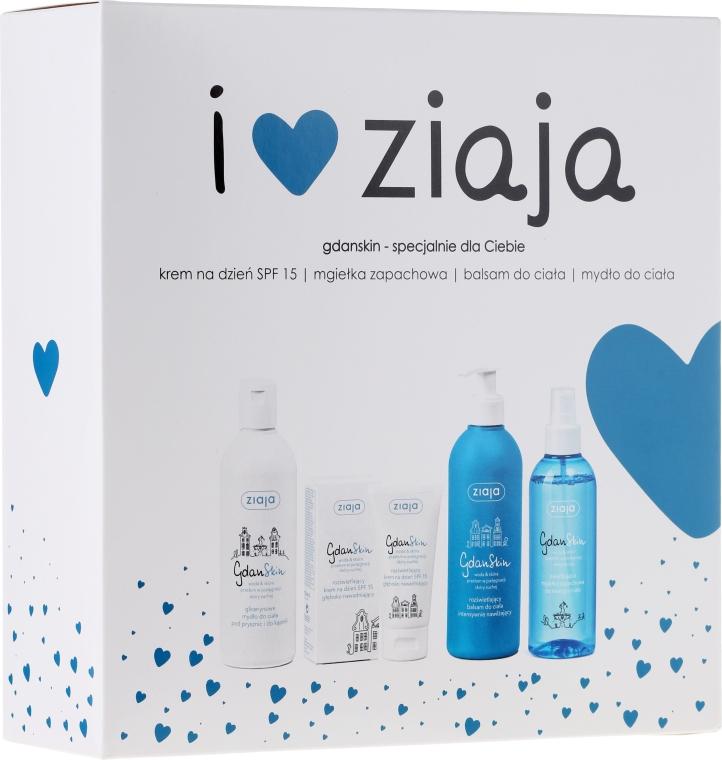 Zestaw prezentowy - Ziaja GdanSkin (cr 50 ml + spray 200 ml + balm 300 ml + soap 300 ml)