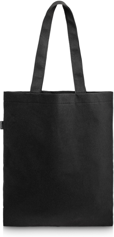 Czarna torba shopper Perfect Style (45 x 30 cm) - Makeup