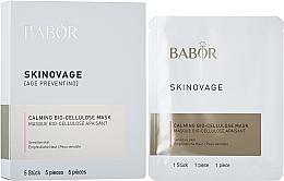 Kup Biocelulozowa maska do wrażliwej skóry - Babor Skinovage Calming Bio-Cellulose Mask