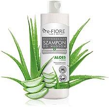 Kup Oczyszczający szampon do włosów potrzebujących nawilżenia Aloes + zioła - E-Fiore