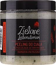 Kup Oczyszczający peeling do ciała Rozmaryn i Pietruszka - Zielone Laboratorium