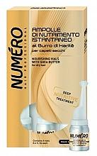 Kup Odżywczy balsam z masłem shea do włosów suchych - Brelil Numero Nourishing Vials For Hair With Shea Butter
