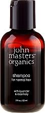 Kup Odżywczy szampon do włosów Lawenda i rozmaryn - John Masters Organics Lavender Rosemary Shampoo (miniprodukt)
