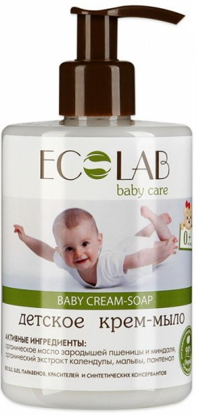 Krem-mydło dla dzieci - ECO Laboratorie Baby Cream-Soap