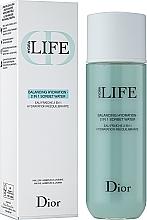 Kup Balansująca woda-sorbet nawilżający do twarzy - Dior Hydra Life Balancing Hydration 2 In 1 Sorbet Water
