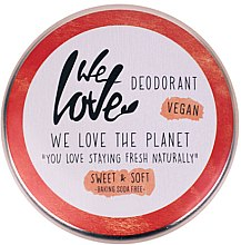 Kup Naturalny dezodorant w kremie - We Love The Planet Deodorant Sweet & Soft