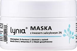 Kup Maska do twarzy z kwasem salicylowym 2% - Lynia
