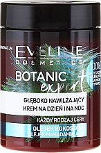 Kup Głęboko nawilżający krem do twarzy na dzień i na noc Olej kokosowy - Eveline Cosmetics Botanic Expert