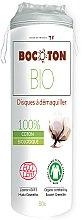 Kup Organiczne płati kosmetyczne, okrągłe, 80 szt. - Bocoton