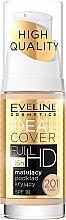 Kup Matujący podkład kryjący - Eveline Cosmetics Ideal Cover Full HD SPF 10