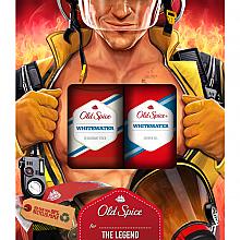 Kup Zestaw - Old Spice WhiteWater Fireman (deo/50g + sh/gel/250ml)