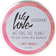 Kup Naturalny kremowy dezodorant - We Love The Planet Deodorant Sweet Serenity