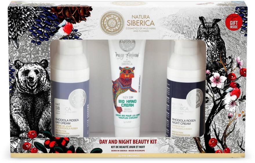 Zestaw do pielęgnacji twarzy i dłoni - Natura Siberica Day And Night Beauty Kit (h/cr 30 ml + 2 x cr 50 ml) — фото N1