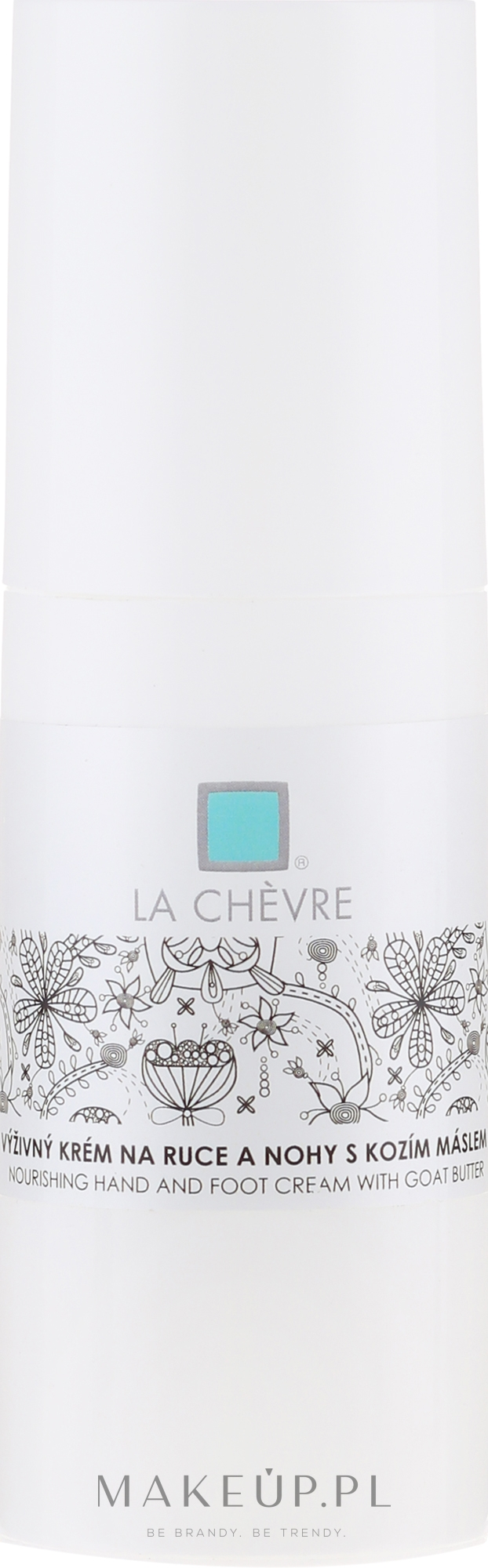 Odżywczy krem do rąk i stóp z kozim masłem - La Chevre Nourishing Hand And Foot Cream — фото 100 g