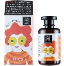 Kup Żel do mycia ciała i włosów dla dzieci Miód i tangerynka - Apivita Babies & Kids Natural Baby Kids Hair & Body Wash With Honey & Tangerine
