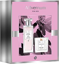 Kup Allvernum Cherry Blossom & Musk - Zestaw (edp/50ml + candle/100g)