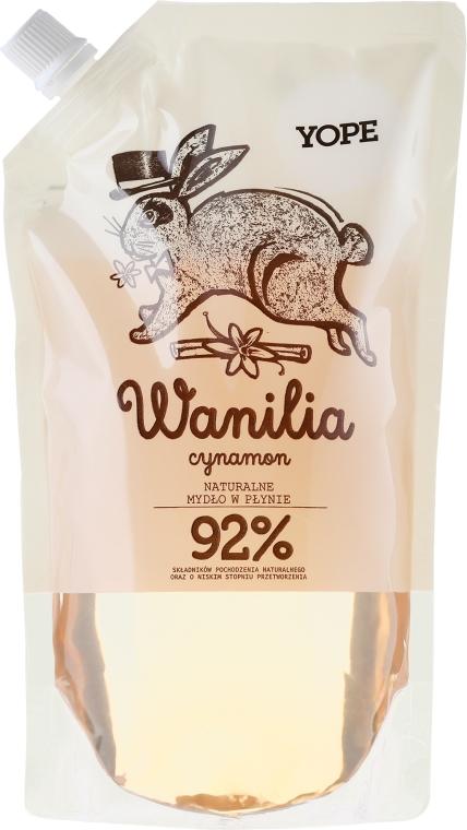 Naturalne mydło w płynie - Yope Wanilia i cynamon (uzupełnienie)