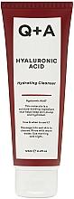 Kup Nawilżający żel oczyszczający do twarzy z kwasem hialuronowym - Q+A Hyaluronic Acid Hydrating Cleanser