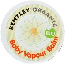 Kup Organiczny balsam ułatwiający oddychanie dla dzieci - Bentley Organic Baby Vapour Balm