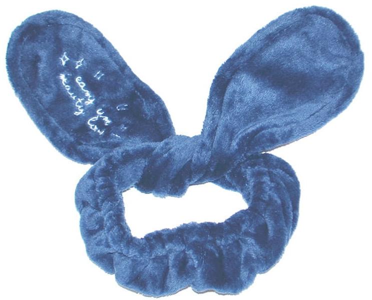 Opaska kosmetyczna do włosów Uszy, niebieska - Dr. Mola Rabbit Ears Hair Band — фото N1
