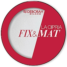 Kup Matujący puder transparentny do twarzy - Deborah La Cipria Fix&Mat Face Powder