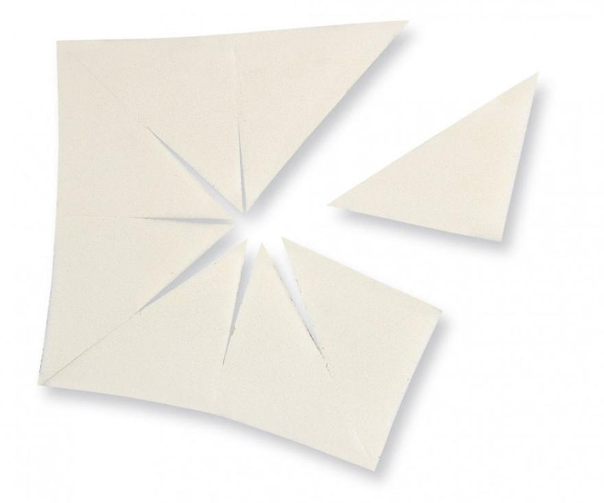 Lateksowa gąbka trójkątna - Make Up Factory Sponge — фото N1