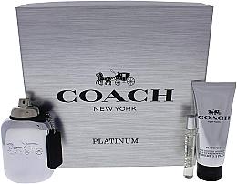 Kup Coach Platinum - Zestaw (edp 100 ml + edp 7,5 ml + s/g 100 ml)