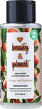 Kup Odżywka nawilżająca do włosów suchych Masło shea i drzewo sandałowe - Love Beauty And Planet Gentle Cleansing Conditioner