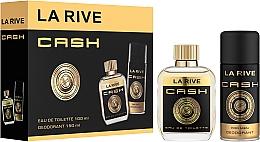 Kup La Rive Cash - Zestaw (edt 100 ml + deo 150 ml)