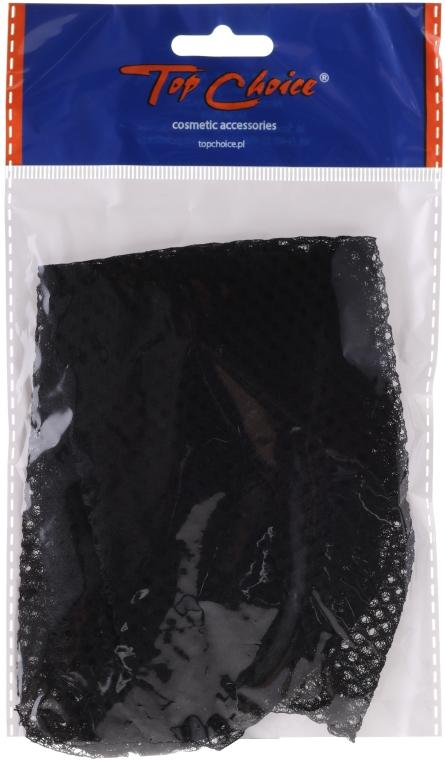Kapturek-siateczka do włosów, 65125, czarny - Top Choice — фото N1