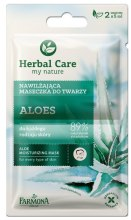 Kup Nawilżająca maseczka do twarzy Aloes - Farmona Herbal Care Aloe Moisturizing Mask
